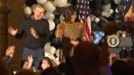 Obamas tanzen zu Michael Jacksons Thriller