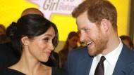 Kriegt sie das Visum? Meghan Markle und Prinz Harry.