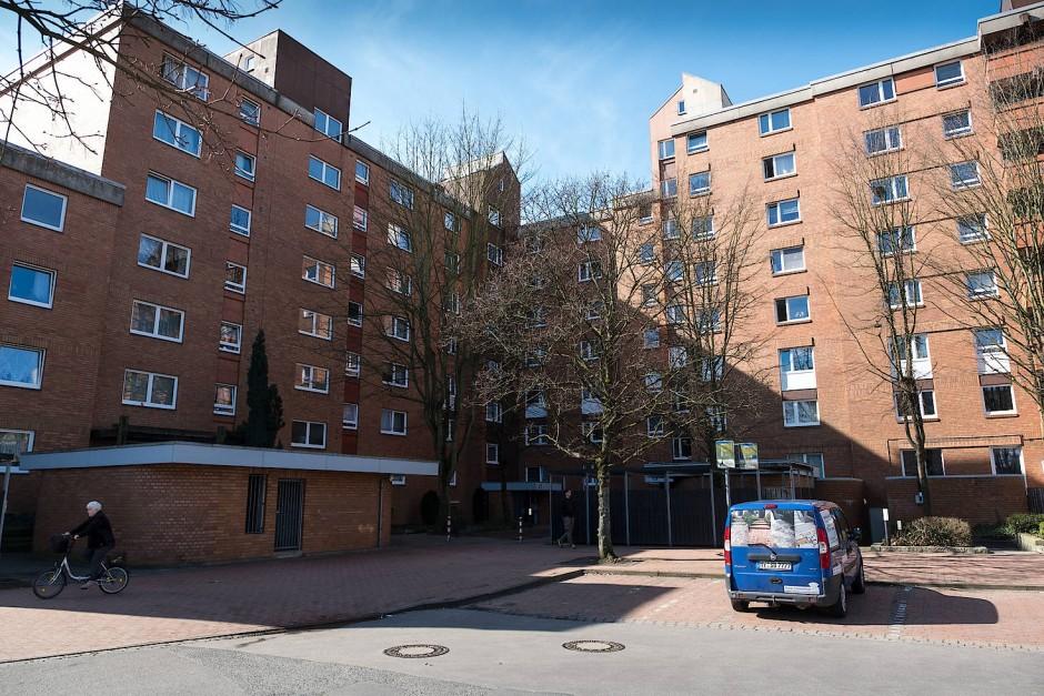 Wohnsiedlung in Hannover: Hier biss Chico seine beiden Besitzer tot.