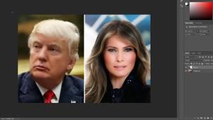 Spott über Melania Trumps erstes offizielles Bild