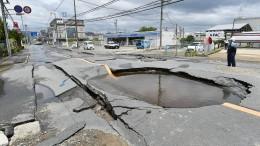 Mehrere Tote nach Erdbeben in Japan