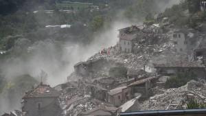 Warum in Italien immer wieder die Erde bebt