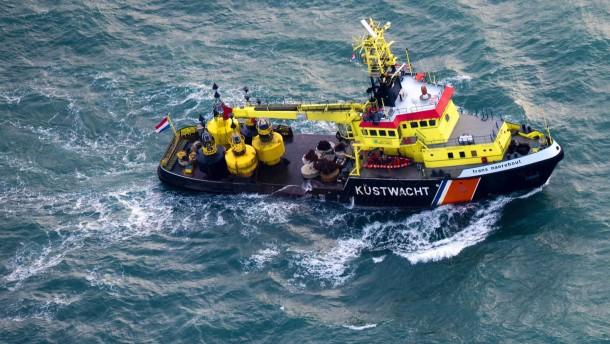 Suche nach vermissten Seeleuten wird aufgegeben