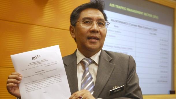 Malaysias Luftfahrt-Chef tritt zurück