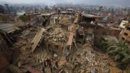 Reise ins Innere des Katastrophengebiets