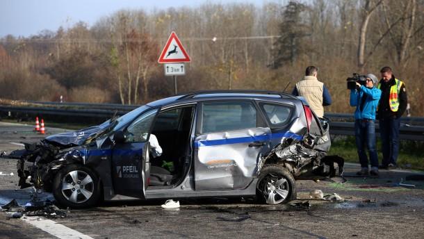 Polizei geht von mindestens zwei Unfällen aus