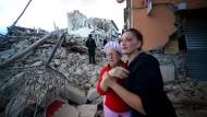 Merkel: Die Bilder der Verwüstung sind schockierend