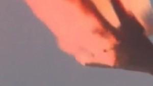 Russische Trägerrakete nach Start abgestürzt