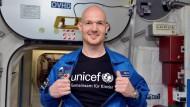 Astronaut Gerst sendet Grußbotschaft aus dem All