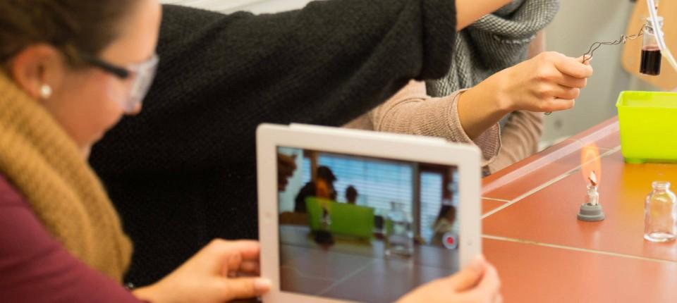 Unterricht mit dem Tablet