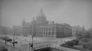 Das Reichsgericht in Leipzig, um 1930
