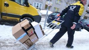 Paketdienste suchen Personal