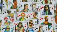 Spielköpfe-Kartenspiel