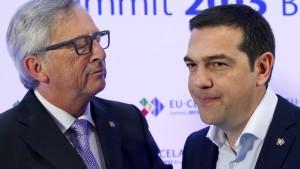 """Juncker warnte Tsipras ausdrücklich vor """"Grexit"""""""