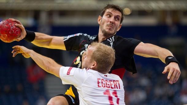 Deutsche Handballer vergeben ersten Matchball