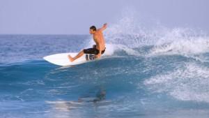 Wer surft, fliegt
