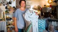 Ein-Frau-Betrieb mit Familienanschluss