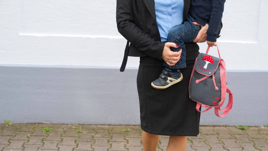 Das Elterngeld hilft Müttern, wieder in den Beruf zurückzukehren - zumindest in Teilzeit