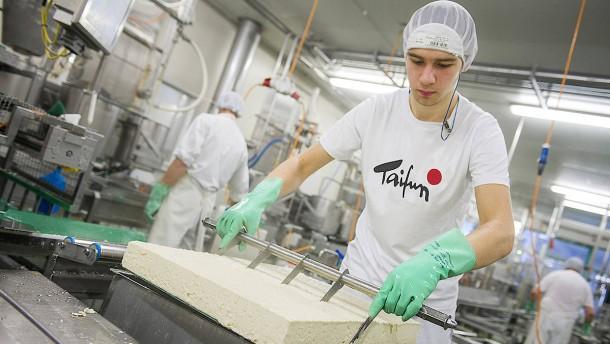 Taifun aus Freiburg stellt den meisten Bio-Tofu in Europa her