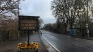 Schnappschuss auf einem Spaziergang in Oxford