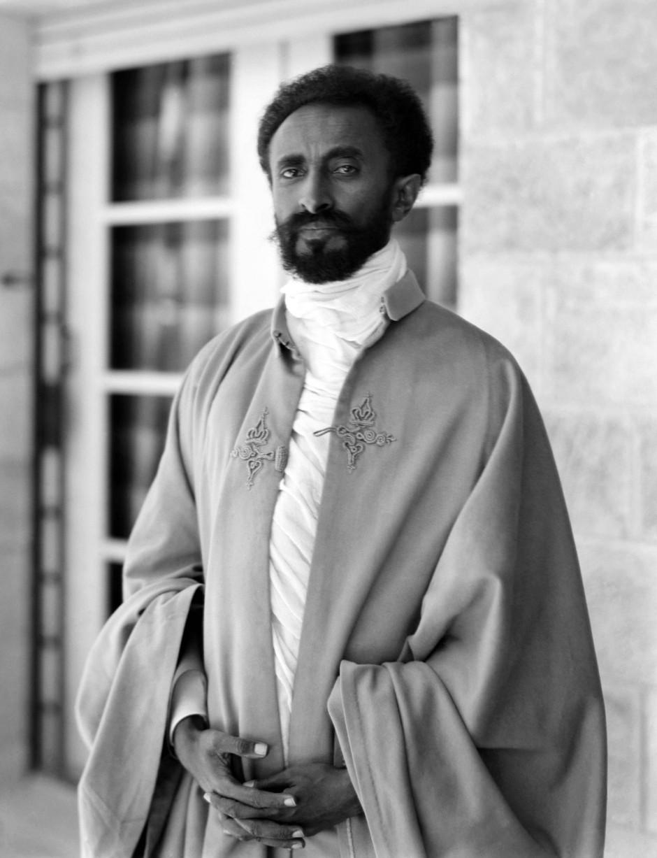 Haile Selassie war äthiopischer Kaiser von 1930 bis 1974.