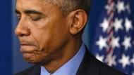 Obama will nach Massaker schärfere Waffengesetze