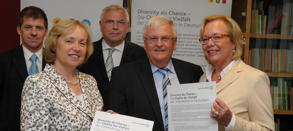 """Charta der Vielfalt"""": Ein bisschen bunter, bitte - Beruf - FAZ"""
