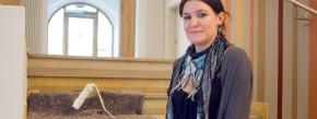 Melissa Wesche macht eine Ausbildung zur Malerin und Lackierin beim städtischen Bauhof der Kommune Backnang.