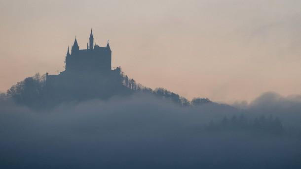 Burg ohne Besucher