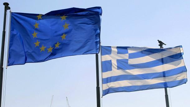 Zähes Ringen mit Griechenland