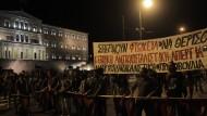 Griechisches Experiment mit offenem Ausgang