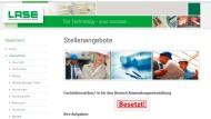 Die Website von Lase - Hersteller für hochwertige Lasersensorik