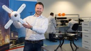Jörg Lamprecht und seine Drohnenabwehr