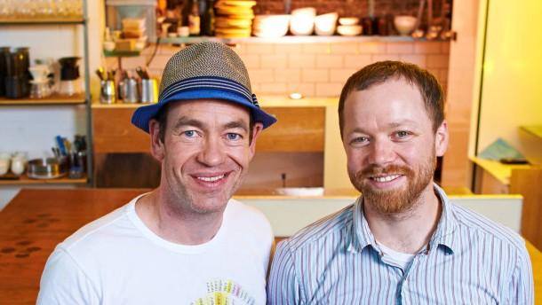 Jeremy Challender und Gwilym Davies - Die Gründer des Prufrock Coffee in London sprechen mit Marcus Theurer über Ihr Geschäftsmodell.