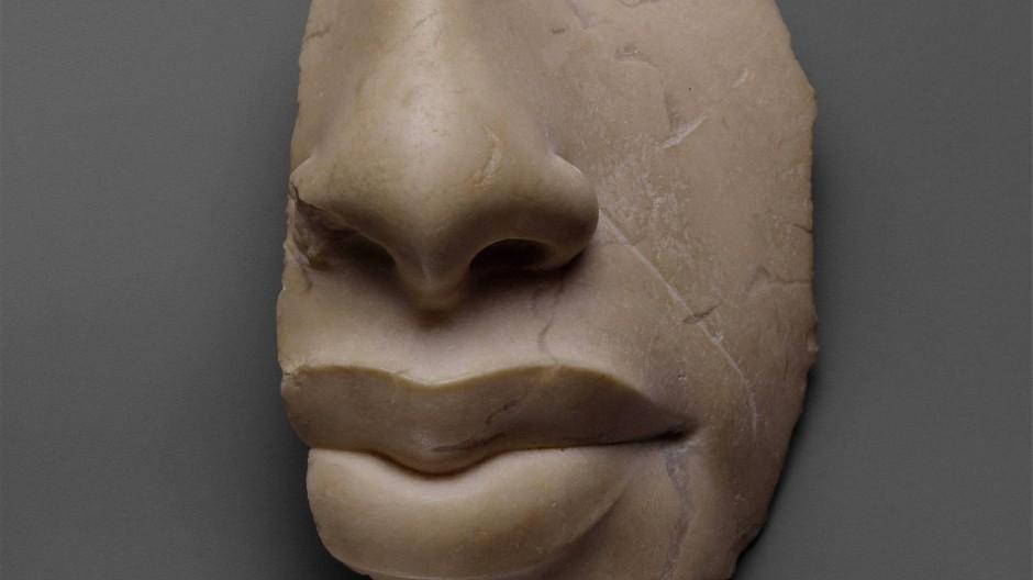 Fragment einer Darstellung Echnatons aus der Zeit um 1350 vor Christus