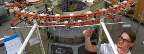 Eine Frage der Technik: Textilingenieure in der Ausbildung