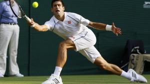 Djokovic stürmt ins Halbfinale