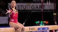 Klare Ziele: Kim Bui will zu den Olympischen Spielen nach London – und danach ihren Bachelor machen.
