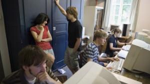 Im Studentenschullandheim