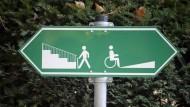 Wenn der Chef ein Handicap hat