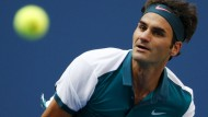 Federer erreicht problemlos Runde zwei