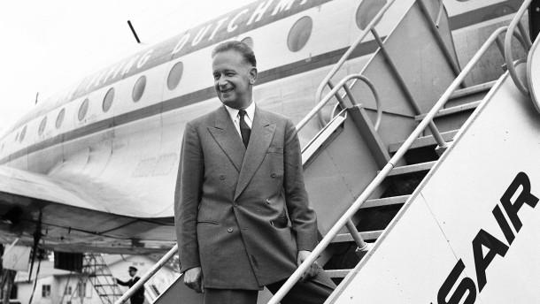 Ein Retter wie Dag Hammarskjöld wollte er werden