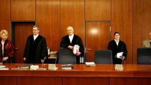 Zum Training in den Bundesgerichtshof