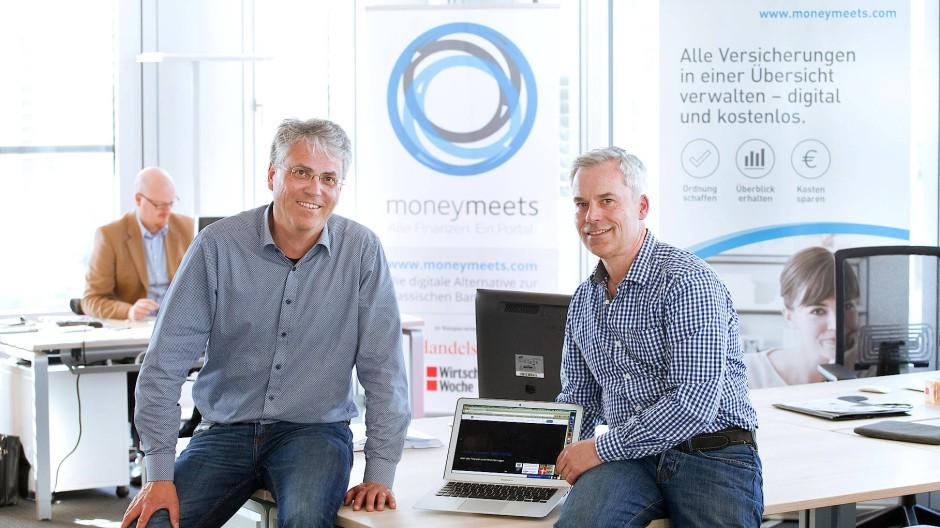 Dieter Fromm (links) und Johannes Cremer