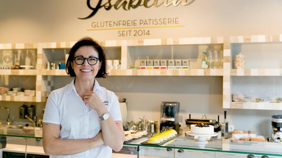 Ohne Gluten: Für die Brote, Törtchen und Quiches von Isabella Krätz reisten die Kunden bis zu 200 Kilometer zur ersten Filiale.