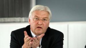 Steinmeier: Kritik und Vorsicht