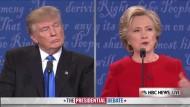 Clinton bringt ihren Vater ins Spiel