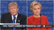 Clinton spielt Trumps verbale Verfehlungen gegen ihn aus