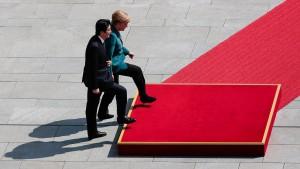 Merkel für rasches Freihandelsabkommen