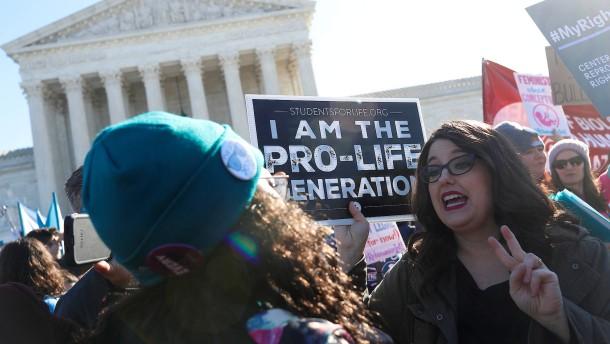 Abtreibung zieht immer